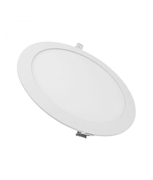 LED Round Panel LIGHT 17W. Recessed Downlight