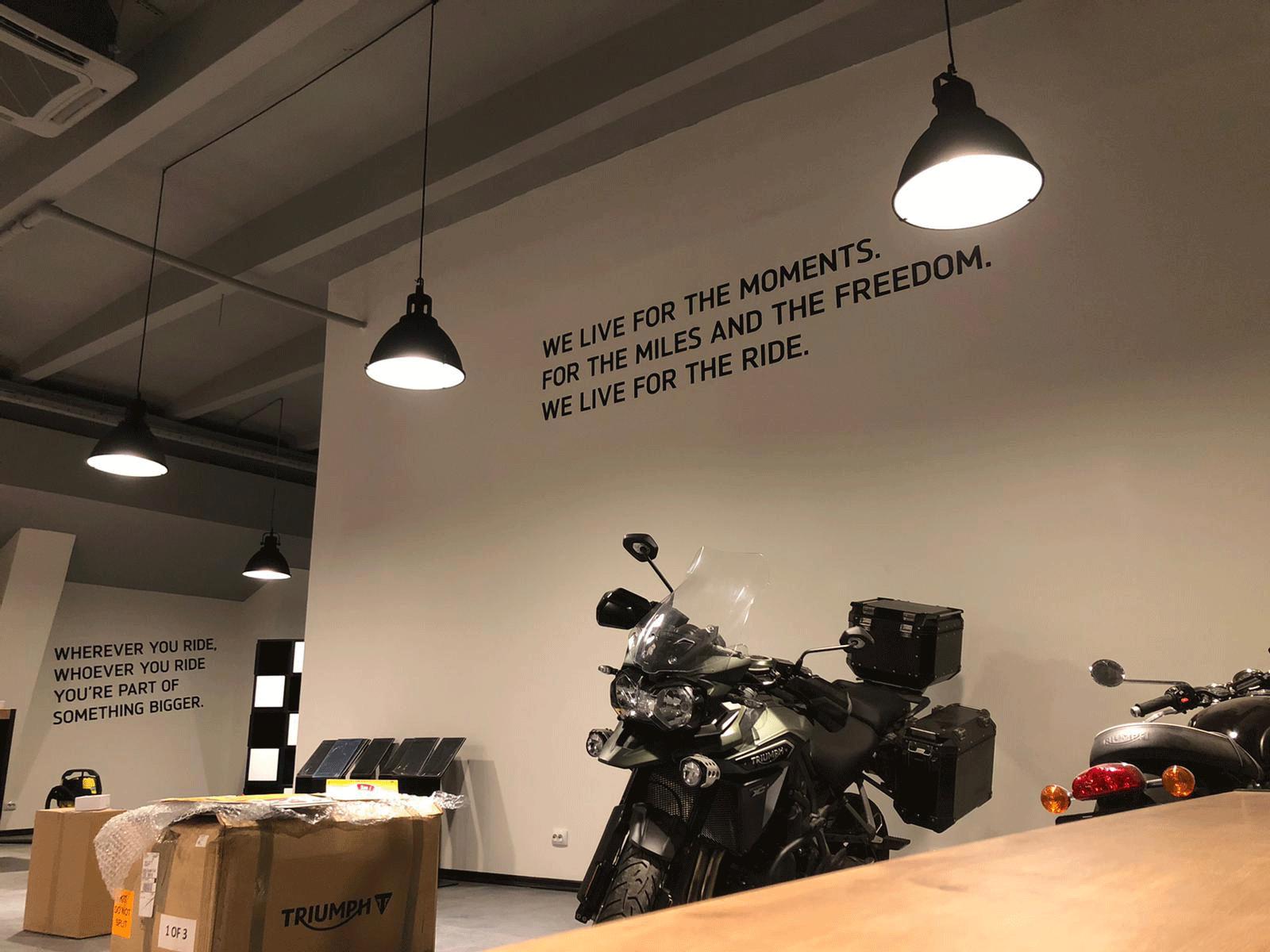 30w bay lights lits motorcycle